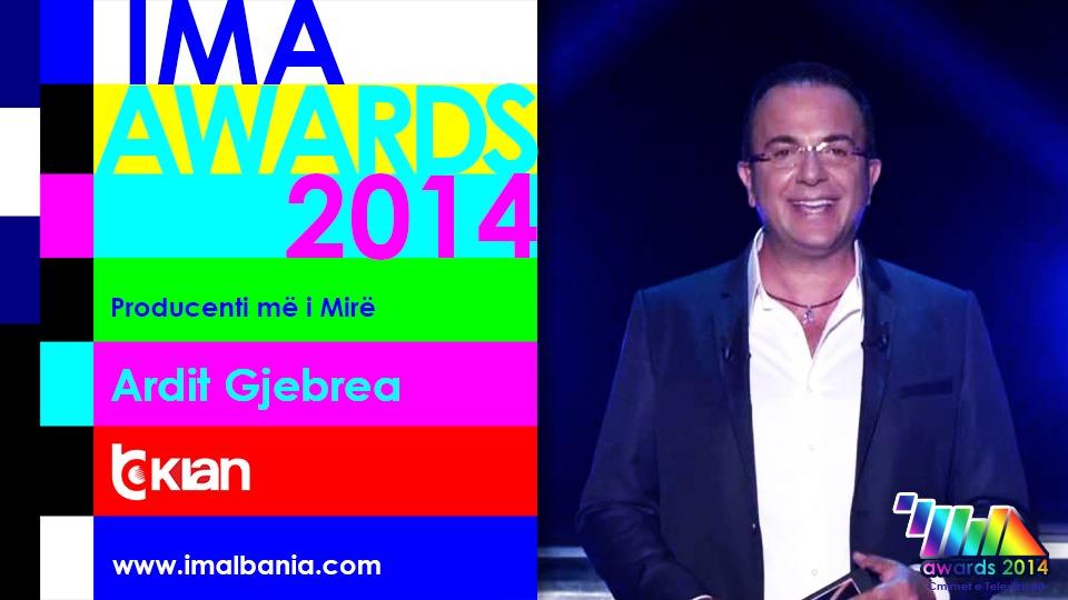 IMA Awards 2014 // Fituesit e Çmimeve të Televizionit