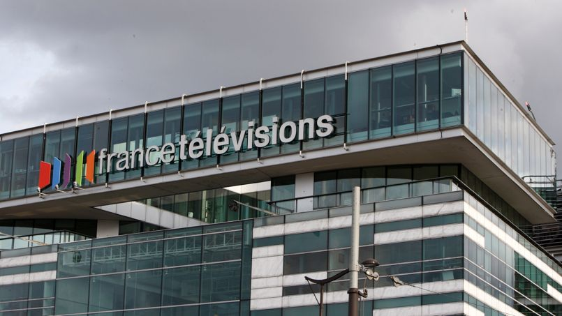Fasada e ndërtesës së France Télévisions.