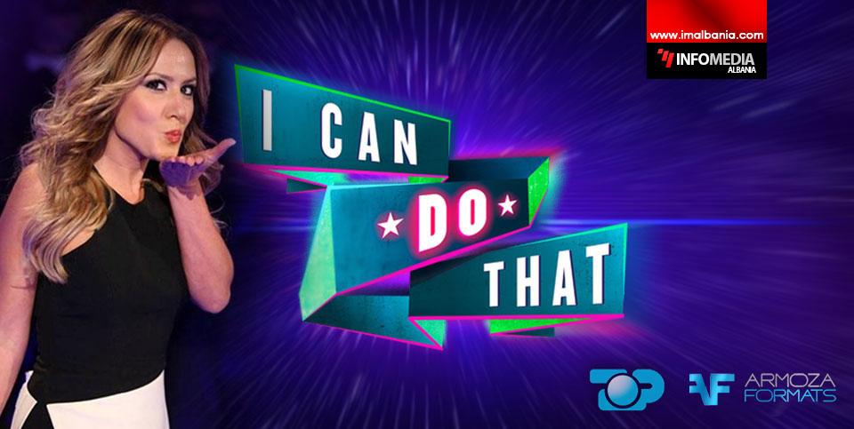 Arbana Osmani | Prezantuesja e I Can Do That.  Përshtatja grafike InfoMedia Albania